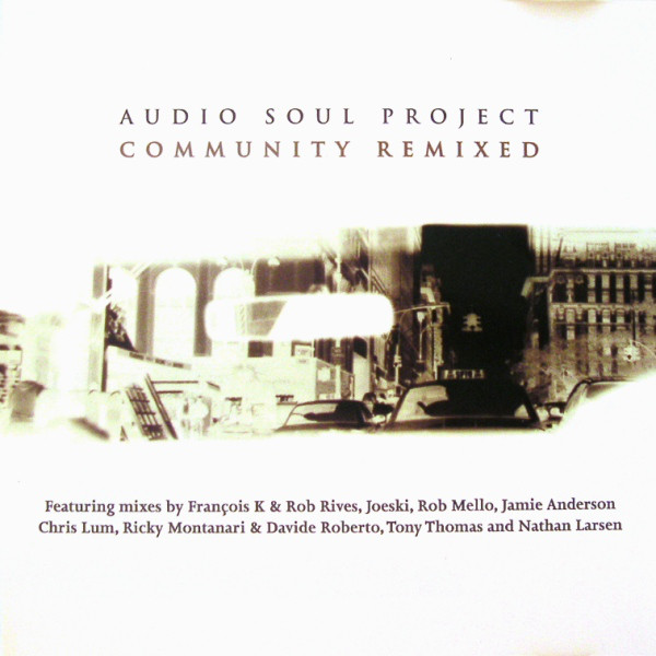 Audio Soul Project Community Remixed CD
