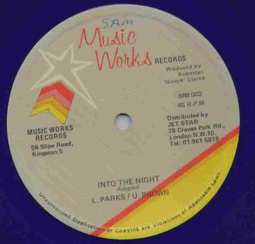 L. Parks* / U. Brown Into The Night  Vinyl