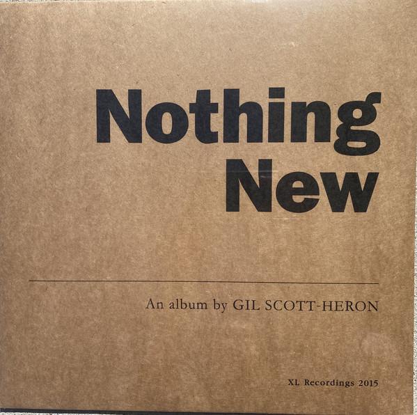Gil Scott-Heron Nothing New Vinyl
