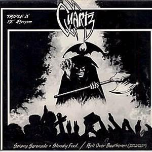 Quartz Satans Serenade + Bloody Fool / Roll Over Beethoven Vinyl