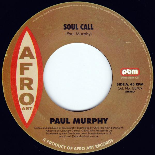 Murphy, Paul  Soul Call Vinyl