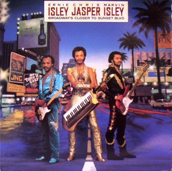 Isley Jasper Isley Broadway's Closer To Sunset Blvd Vinyl