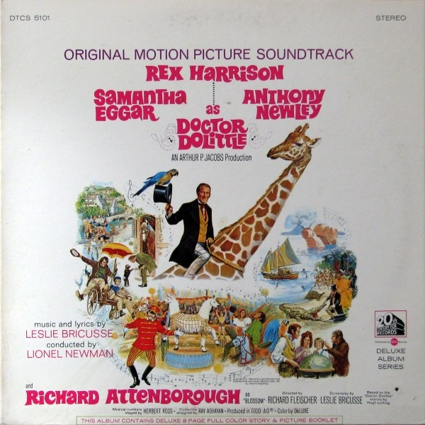 Motion Picture Soundtrack Doctor Dolittle - Rex Harrison