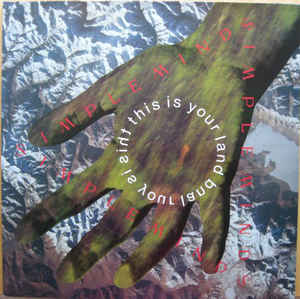 Simple Minds This Is Your Land Vinyl