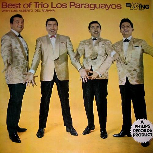 Trio Los Paraguayos With Luis Alberto Del Parana Best Of Trio Los Paraguayos Vinyl