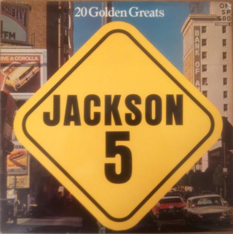 Jackson 5 20 Golden Greats Vinyl