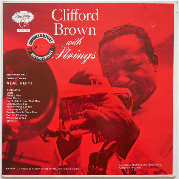 Clifford Brown Clifford Brown With Strings Vinyl