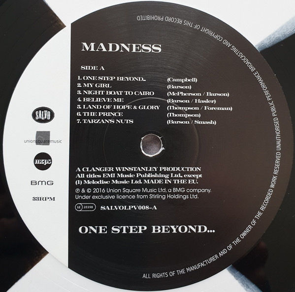 Madness One Step Beyond Vinyl