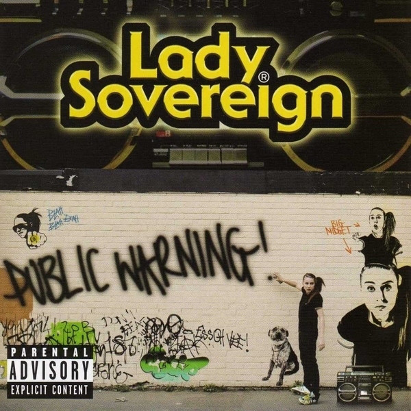 Lady Sovereign Public Warning CD
