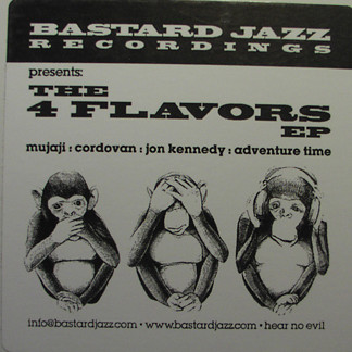 Various Bastard Jazz Recordings Presents: The 4 Flavors EP Vinyl