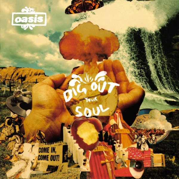 Oasis Dig Out Your Soul CD