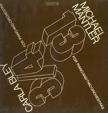 Mantler, Michael / Carla Bley 13 & 3/4 Vinyl