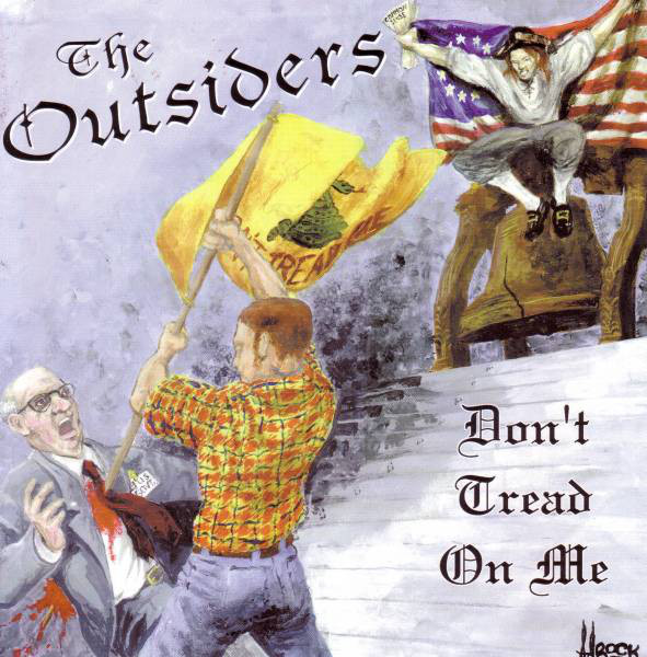 The Outsiders Don't Tread On Me Vinyl