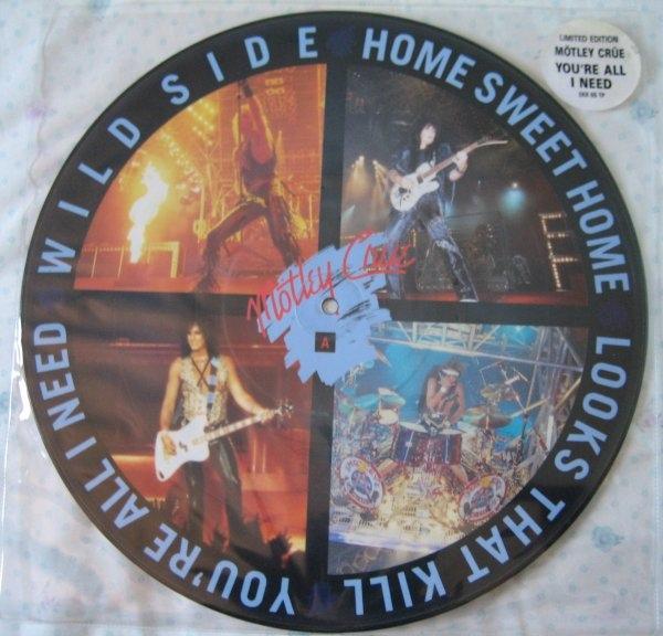 Motley Crue You're All I Need Vinyl