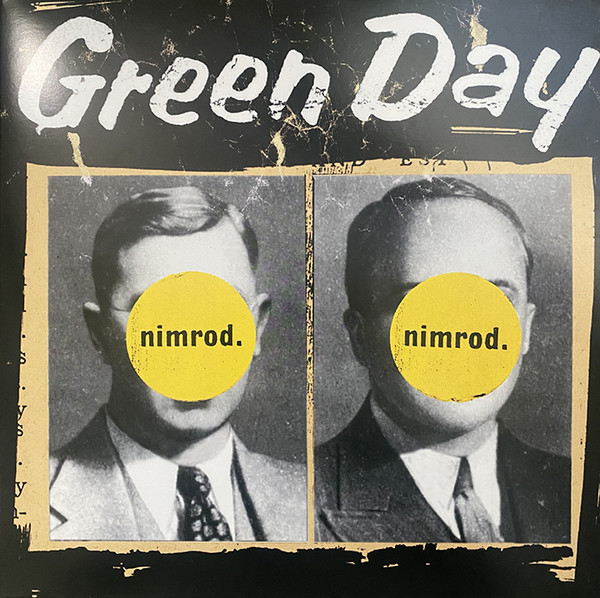 Green Day Nimrod. Vinyl