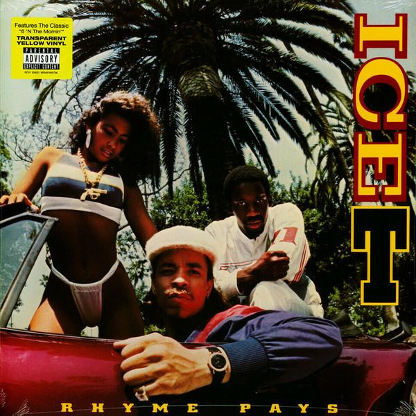 Ice-T Rhyme Pays Vinyl