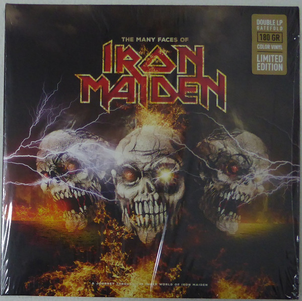 Various The Many Faces Of Iron Maiden (A Journey Through The Inner World Of Iron Maiden) Vinyl