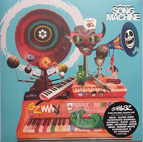 Gorillaz Song Machine Season One Vinyl