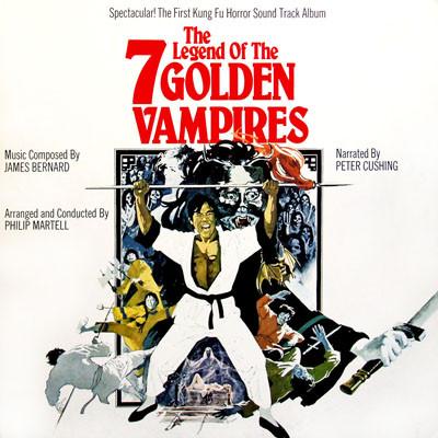James Bernard The Legend Of The 7 Golden Vampires (Original Soundtrack)  Vinyl
