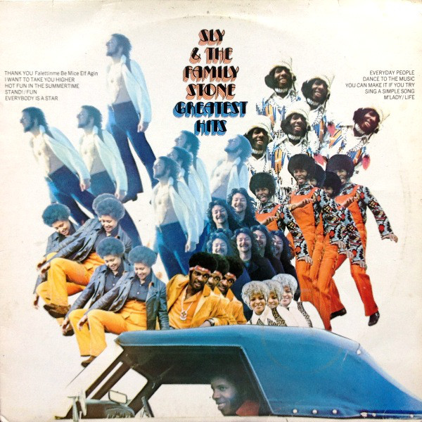 Sly & The Family Stone Greatest Hits Vinyl
