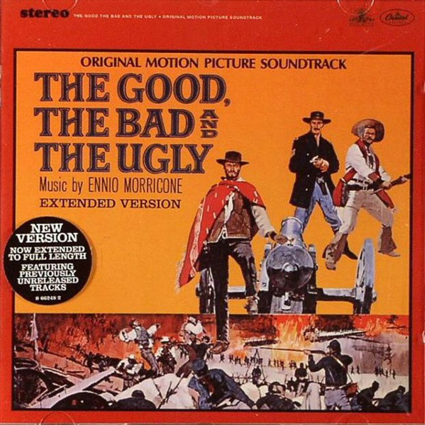 Ennio Morricone The Good, The Bad And The Ugly (Original Motion Picture Soundtrack - Extended Version) CD