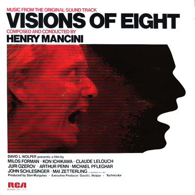 Henry Mancini Visions Of Eight (Original Soundtrack) Vinyl