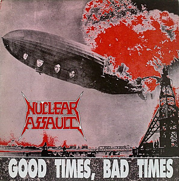 Nuclear Assault Good Times Bad Times Vinyl