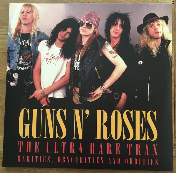 Guns N' Roses The Ultra Rare Trax Vinyl