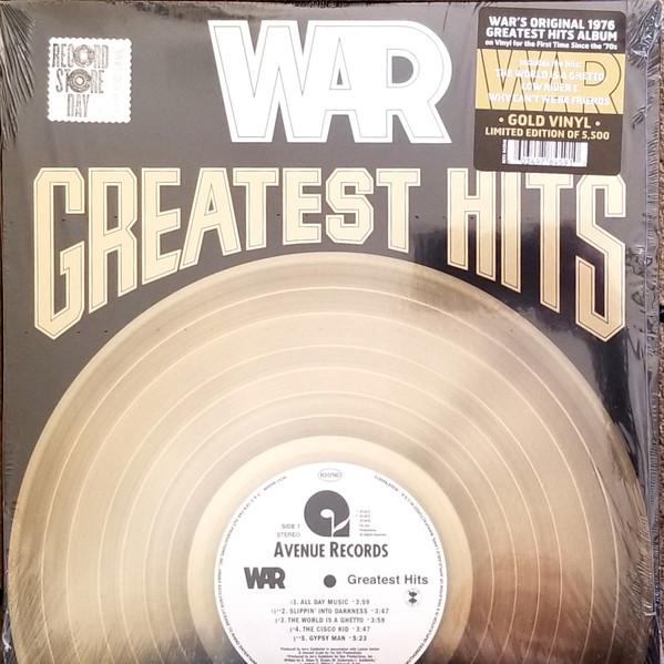 War Greatest Hits Vinyl