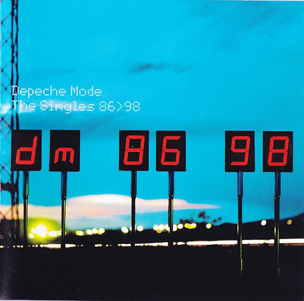 Depeche Mode The Singles 86>98 CD