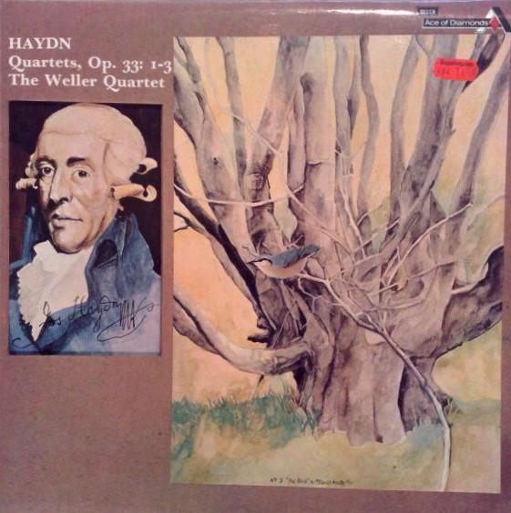 Haydn - The Weller Quartet Quartets, Op. 33: 1-3 Vinyl