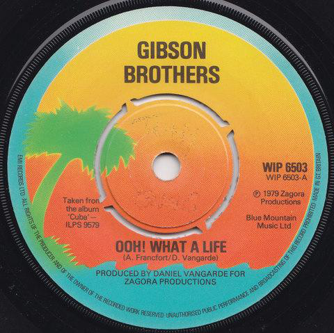 Gibson Brothers Ooh! What A Life Vinyl