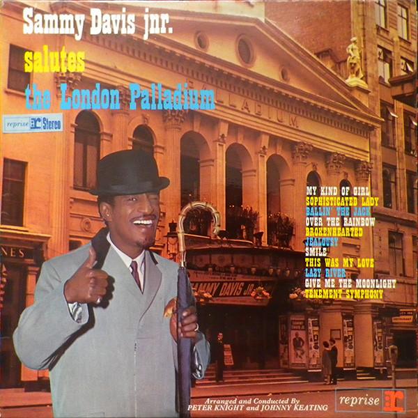 Sammy Davis Jnr. Salutes The London Palladium