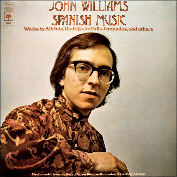 Williams, John Plays Spanish Music Vinyl