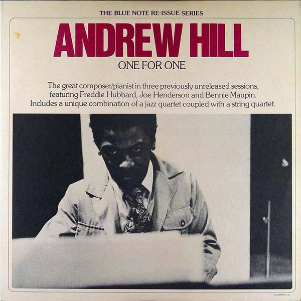 Hill, Andrew One For One Vinyl