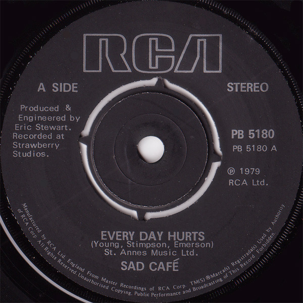 Sad Café Every Day Hurts