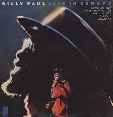 Paul, Billy Live In Europe Vinyl