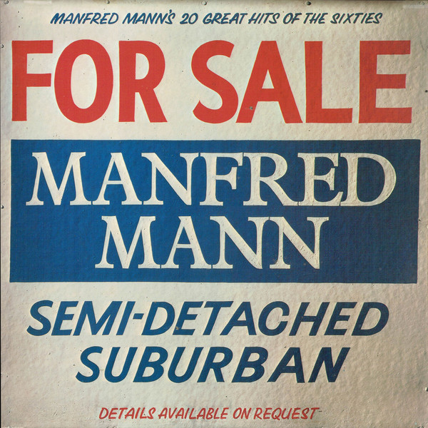 Manfred Mann Semi-Detached Suburban (20 Great Hits Of The Sixties) Vinyl