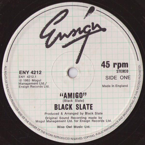 Black Slate Amigo Vinyl