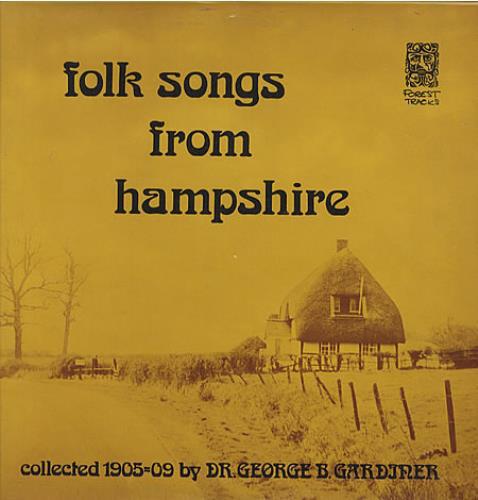 Various Folk Songs From Hampshire Vinyl