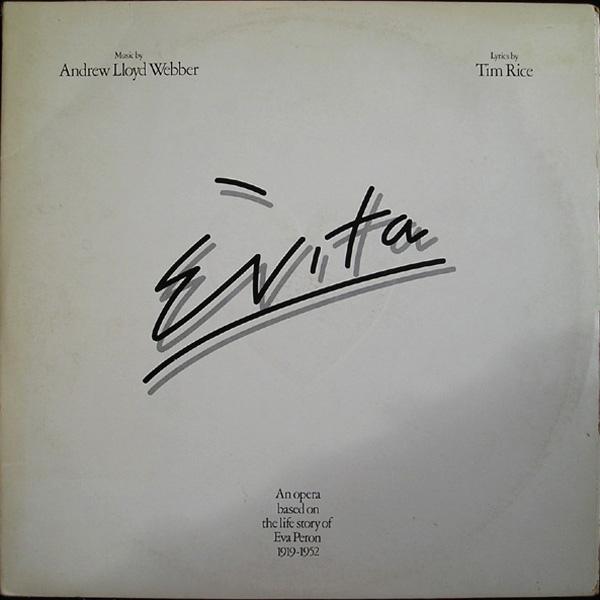 Webber, Andrew Lloyd Evita Vinyl