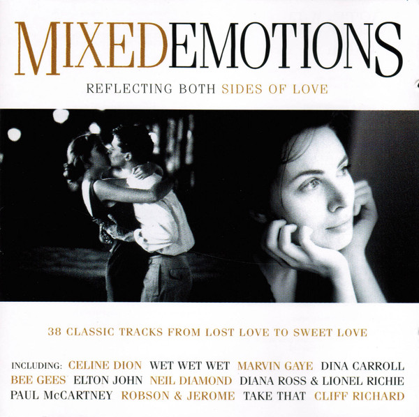 Various  Mixed Emotions - Reflecting Both Sides Of Love  CD