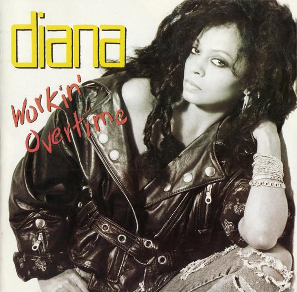 Ross, Diana Workin' Overtime Vinyl
