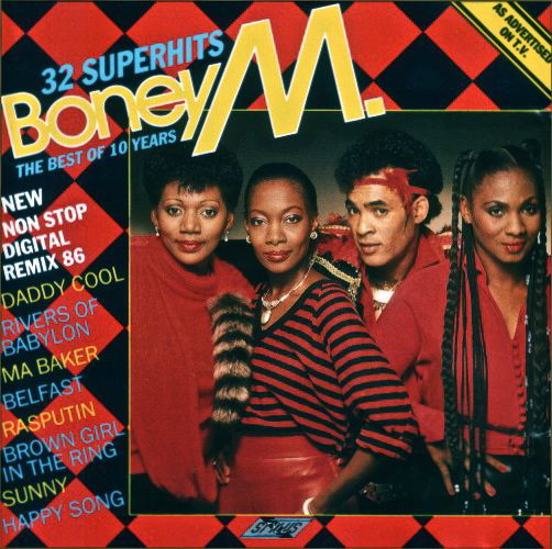 Boney M The Best Of 10 Years Vinyl