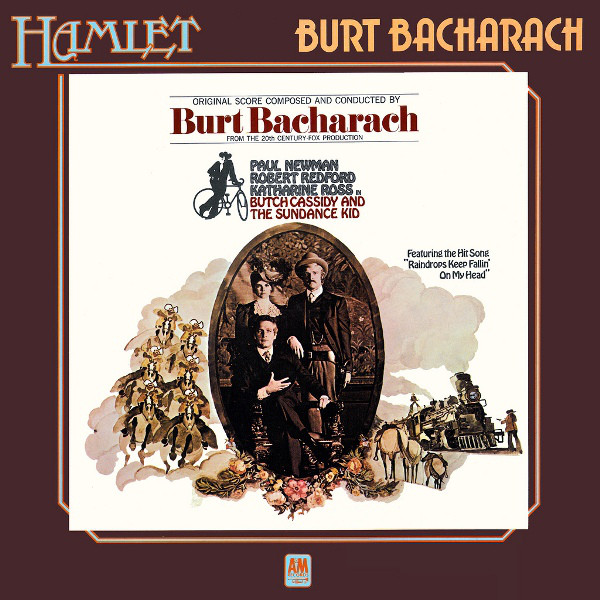 Burt Bacharach Music From Butch Cassidy & The Sundance Kid Vinyl