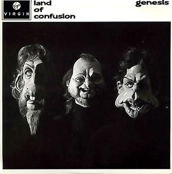 Genesis Land of Cofusion Vinyl