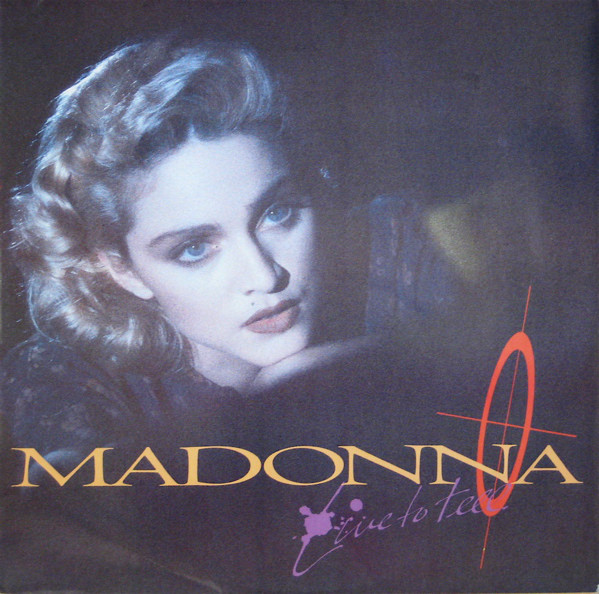 Madonna Live To Tell Vinyl