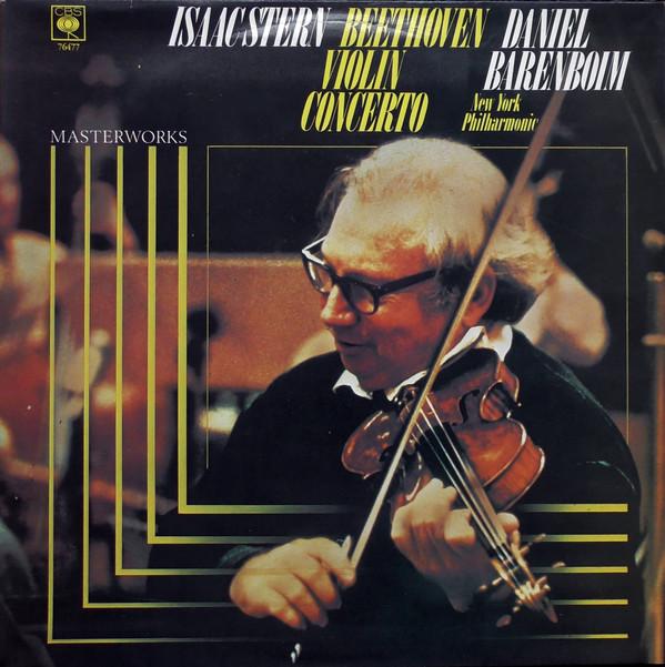 Beethoven - Isaac Stern, Daniel Barenboim Violin Concerto Vinyl