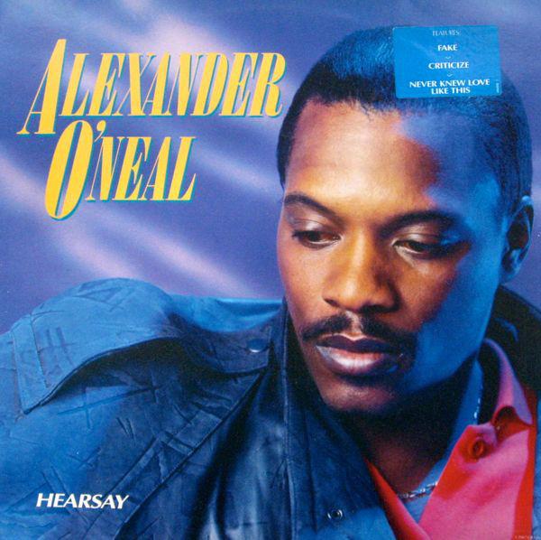 O'Neal, Alexander Hearsay Vinyl