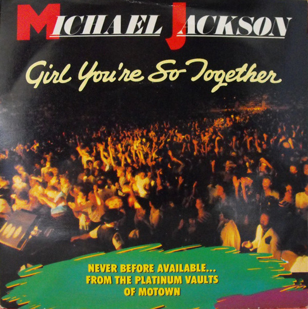 Jackson, Michael Girl You're So Together Vinyl